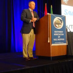 Ray Hufnagel gives the SWARS Scholarship update